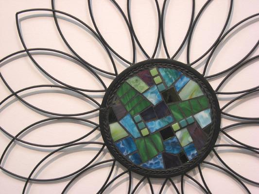 Art Cappi Phillips 2010 Mosaic Wall Flower.jpg -